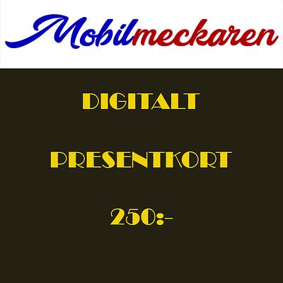 Presentkort (250kr)