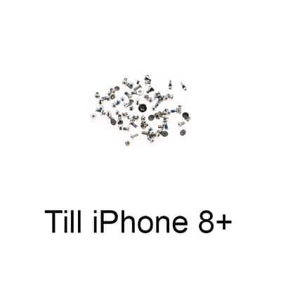 iPhone 8+ skruvset