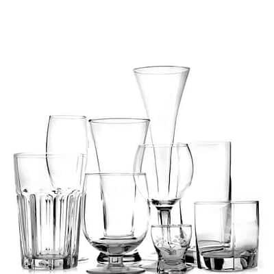 Glas och kannor
