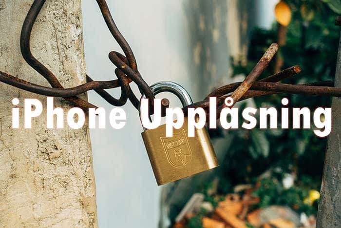 iPhone mobilupplåsning