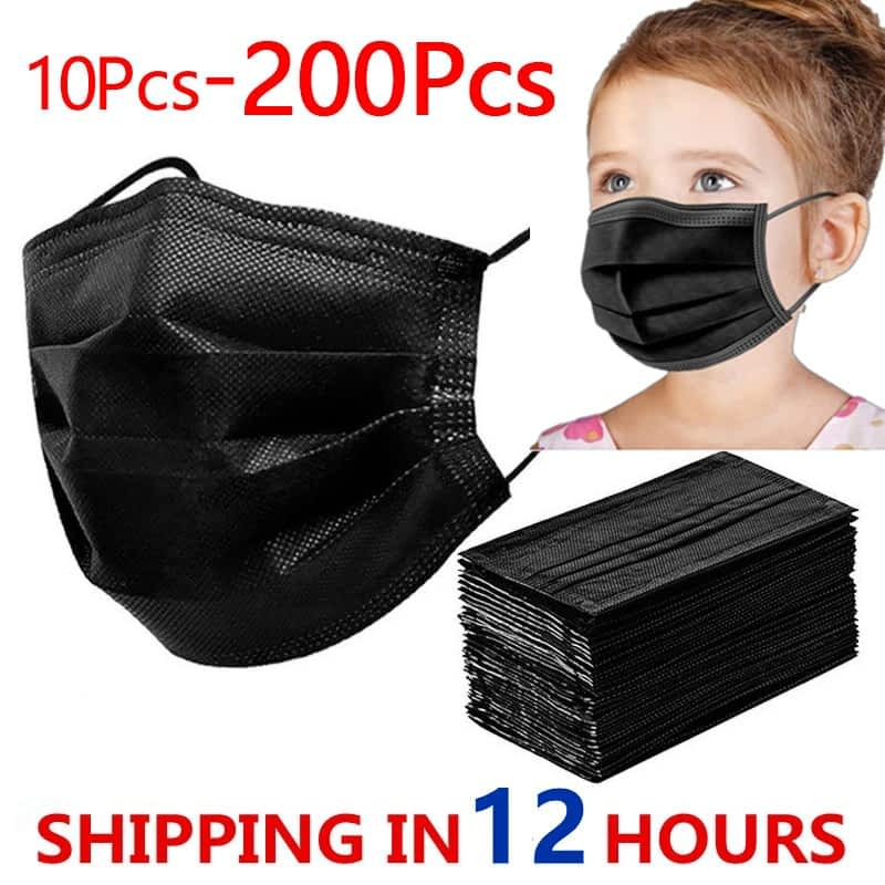 12h-Fast-Shipping-Disposable-Child-Mask-Children-s-Face-Mask-10-200pcs-3-layer-Disposable-Non-7.jpg