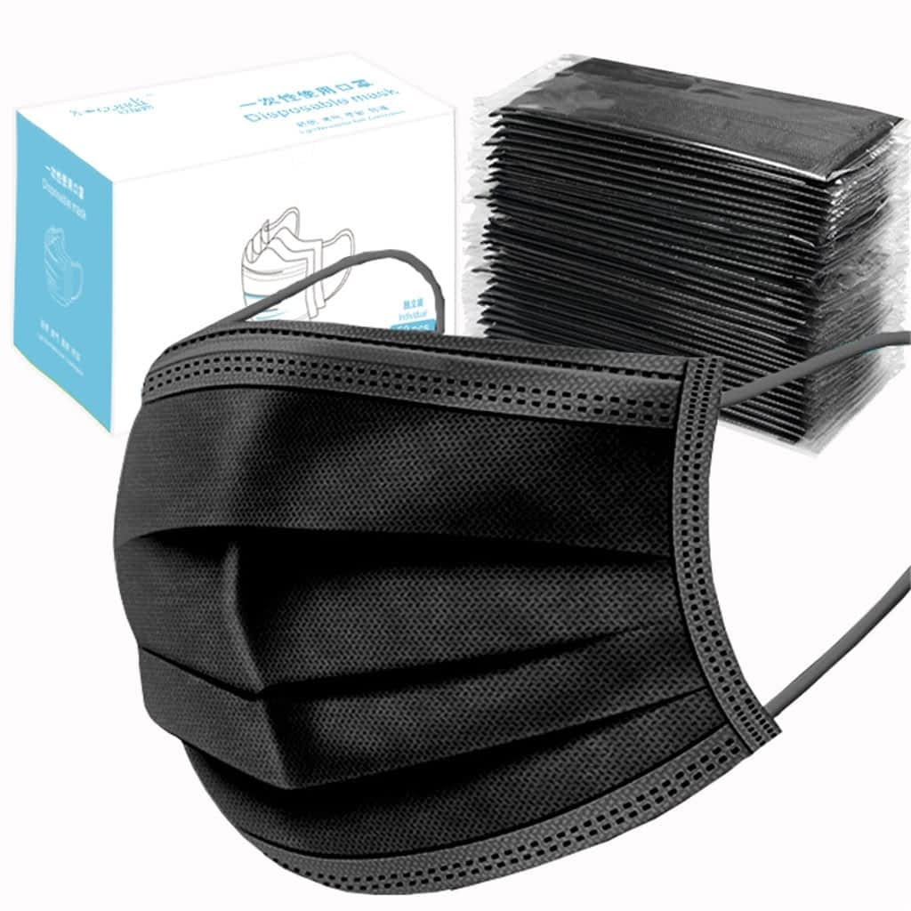 50PCS-Individual-Package-Adult-Disposable-Mask-Black-InWindrial-3Ply-Non-woven-Cycling-Face-Masks-mascarillas-negra.jpg