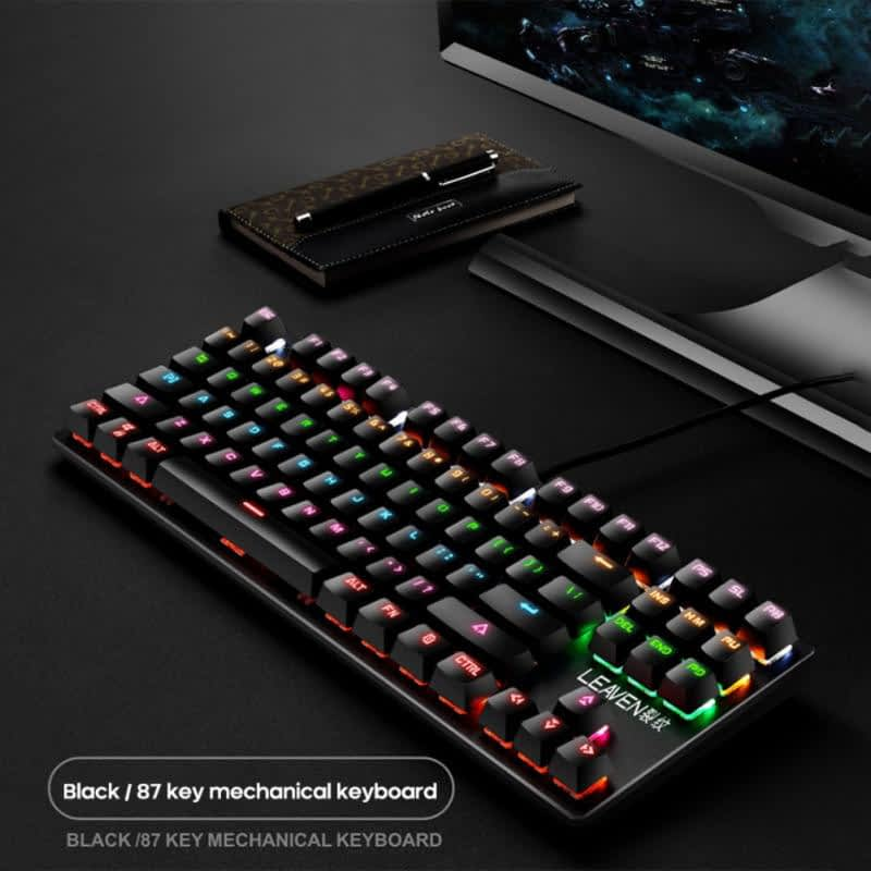 Punk-Mechanical-Keyboard-Four-Steps-Six-Row-Suspension-Key-Cap-87-Keys-Green-Axis-Gaming-Competitive.jpg