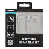 Streetz Bluetooth Hörlurar in ear – vit produktbild 1