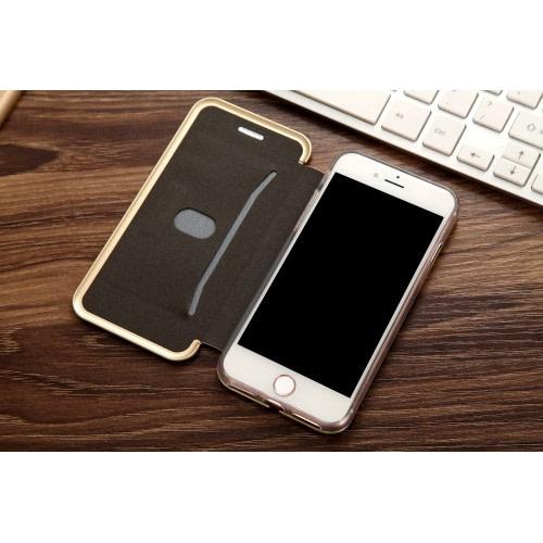 Cmai2 guldfärgat plånboksfodral till iPhone 7 & 8 produktbild 3