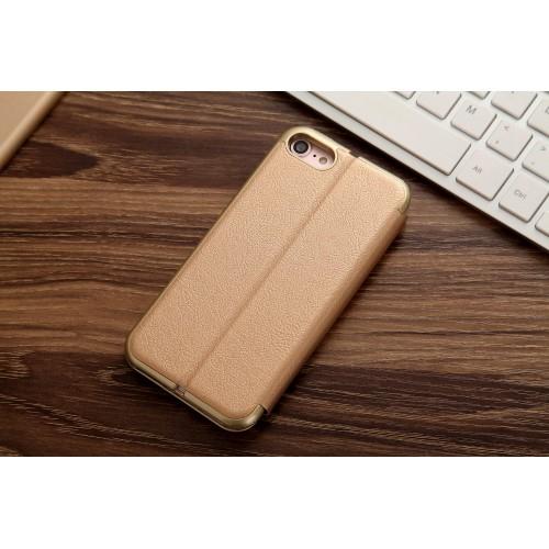 Cmai2 guldfärgat plånboksfodral till iPhone 7 & 8 produktbild 2