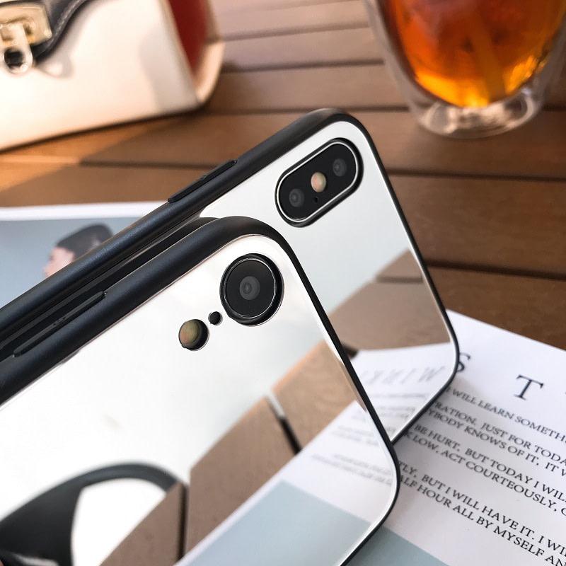 Skal med spegel till iPhone