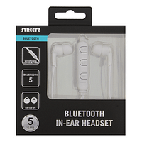 Streetz Bluetooth Hörlurar in ear – vit produktbild 1