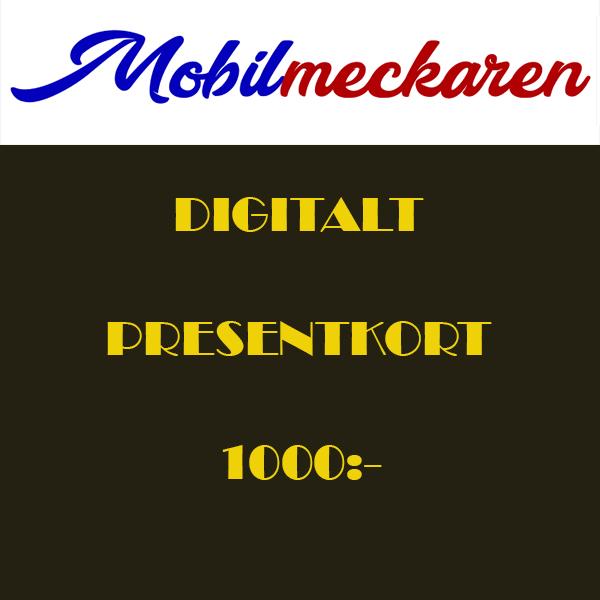 Presentkort (1000kr)