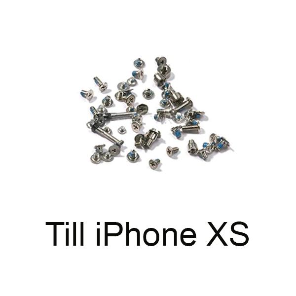 Fullt skruvset till iPhone XS