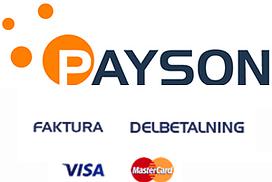Paysons betalningsalternativ