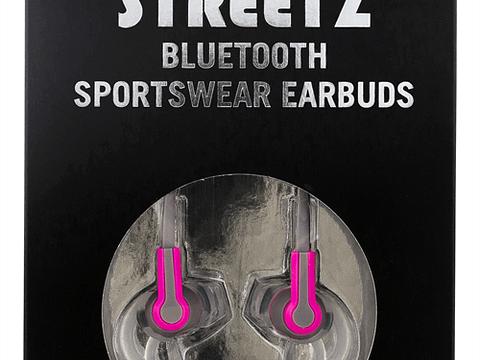 Streetz Rosa Bluetooth hörlurar produktbild 3