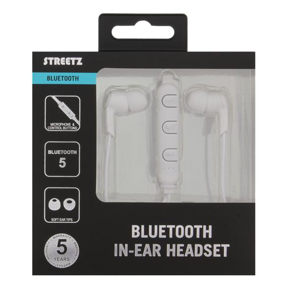 Streetz In-ear Bluetooth headset - Vit Image
