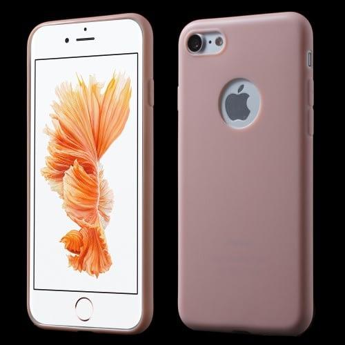 Tunt TPU-skal till iPhone 7/8 - Ljusrosa Image