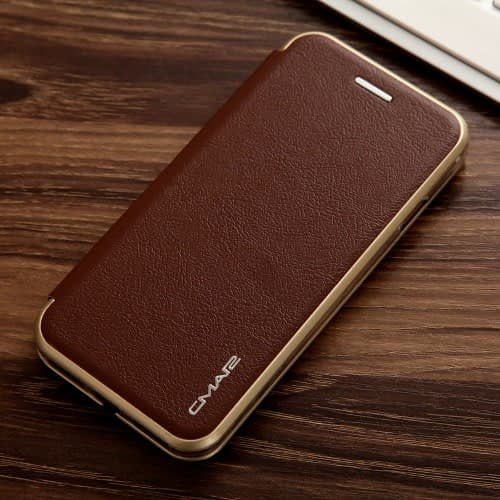 CMAI2 Plånboksfodral till iPhone 7 & 8 - kaffe Image