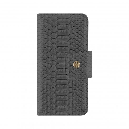 Marvelle Magneto N°301 Wallet till iPhone 7 & 8 - Ash Grey Reptile Image